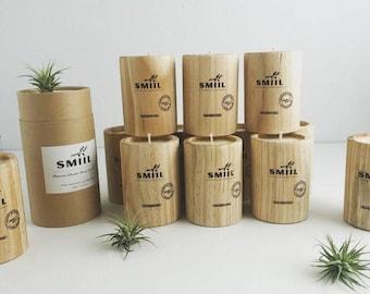 Premium wooden aroma candle