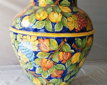 "Sicilian Decorative Vase ""Giara"""