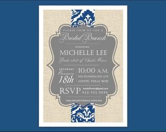 Bridal Shower // Wedding // Invitation.  Customizable digital download.
