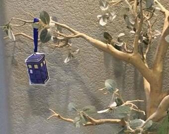 Police box ornament