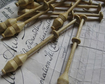 Beech Wood Sajou Lace Bobbins