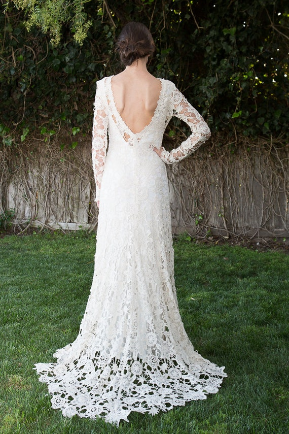 Crochet Wedding Dress Train