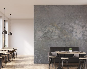 Grunge Concrete Wall Mural and Wallpaper, Home and Office Wall Decor, Concrete Interiors #GREG