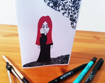The Happy Goth, Occasions Card, Blank, Personalised
