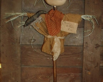 My Primitive KEEPER Of The CORN SCARECROW Pattern