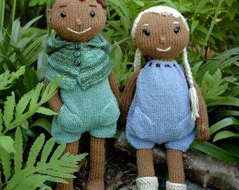 Wood-Elf Doll Knitting Pattern