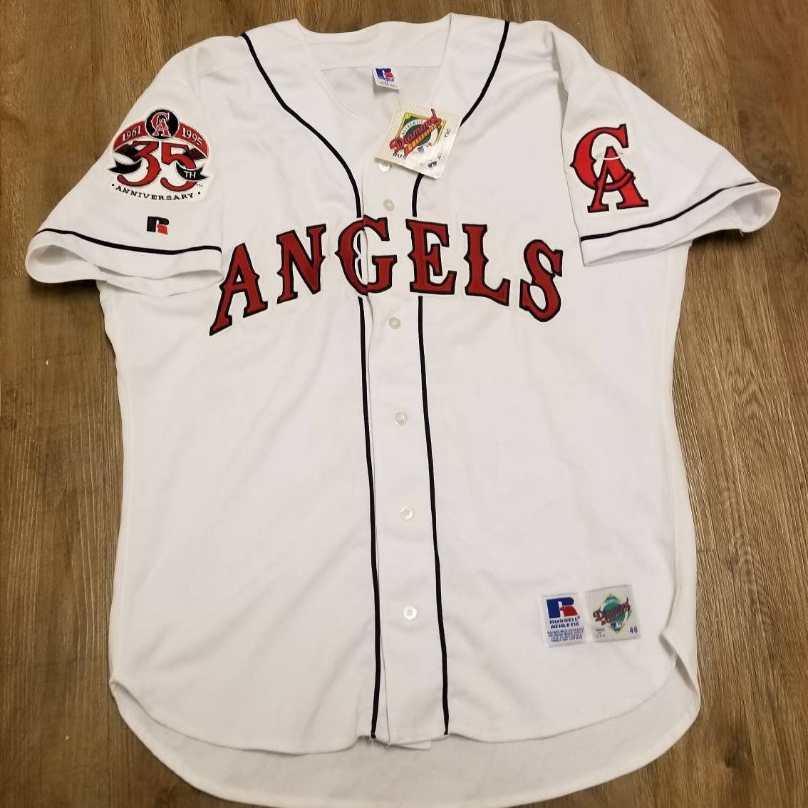 Vintage MLB New York Yankees Russell Athletic Authentic Diamond ...