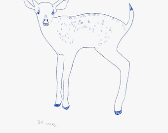Mother Deer: Limited Edition signed Variable Print