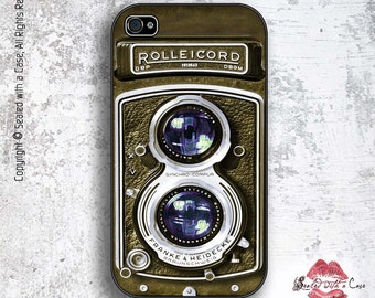 Vintage Rolleicord Camera - iPhone 4/4S 5/5S/5C/6/6+ and now iPhone 7 cases!! And Samsung Galaxy S3/S4/S5/S6/S7