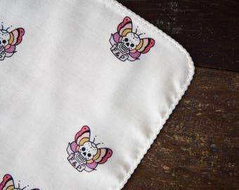 Organic Baby Washcloth - Butterfly