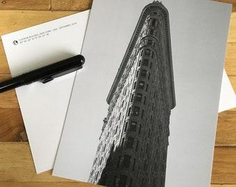 Card - New York - Flat Iron building