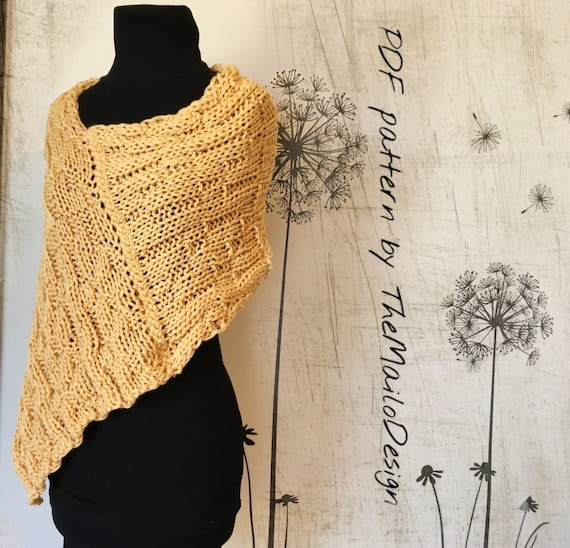 Knitting Pattern Knit Shrug Pattern Easy Knitting Pattern