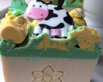 Cow's Milk Cold Process Handmade Soap
