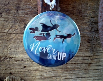 Peter Pan Christmas Tree Ornament, 2.25 Inch, Available in Magnet, Pin or Pocket Mirror