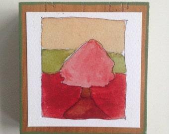 Red Tree Tiny Print