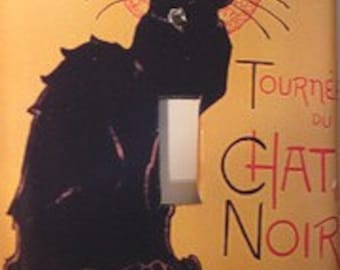 Chat Noir Light Switch Cover