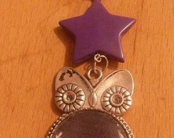 OWL Keychain thanks star