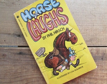 Horse Laughs Vintage Joke Book by Phil Hirsch