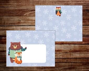 Winter Wonderland - Envelope Set - A2 Envelopes