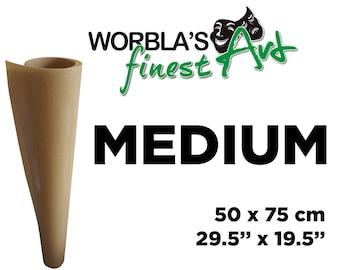 Pre-Order Worbla Finest Art MEDIUM SHEET - Thermoplastic Crafting Material