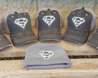 Family Support Hats, Custom Support Hats, Vacation Hats, Family Reunion Hats, Awareness Hats, Family Hats, Group Hats