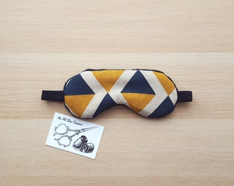 Sleeping mask / / sleep mask / / sleep accessory / / accessory sleep - Blue Diamond