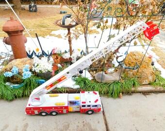 Electronic Tonka Fire Truck # 36, Tonka Fire Truck, Vintage Fire Truck, Vintage Tonka Trucks, Vintage Tonka Toys, Toys, Fire Truck