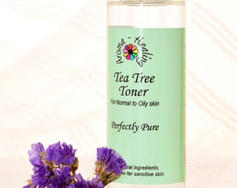 Tea Tree Facial Toner | Natural Toner | Vegan | Acne | Normal Greasy Skin | Skincare