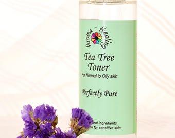 Tea Tree Facial Toner | Natural Toner | Vegan | Acne | Normal Greasy Skin | Skincare