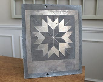 Magnesium Printing Plate of Quilt Quilting Pattern