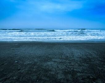 Washington Coast Photograph, Kalalock Photograph, Pacific Ocean, Waves, La Push, Photo, Rialto Beach, Wall Decor, 8x10, Olympic Peninsula