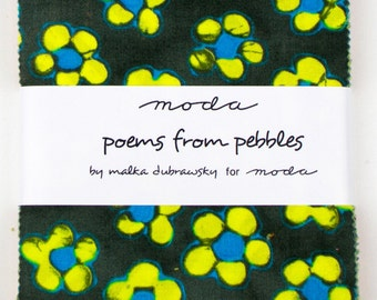 POEMS from PEBBLES  - Charm Pack - by Malka Dubrawsky for Moda