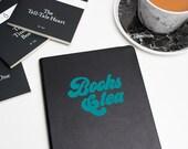 Books & Tea Vinyl Decal L...