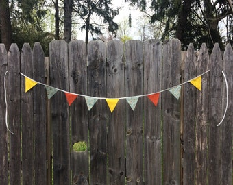 "Autumn ""Butterfield"" Pennant Banner"