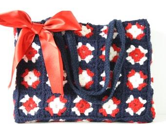 SALE! Crochet bag Marina