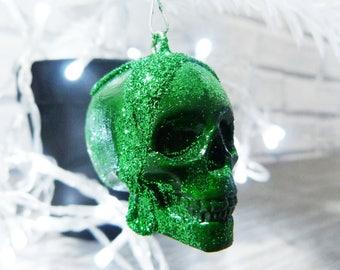 Skull Ornaments, Skull Baubles, Christmas Skulls, Skull Decorations, Skull Christmas decorations, Christmas Skull Baubles