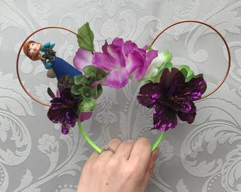 Disney frozen anna inspired mickey Minnie Mouse ears