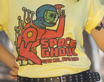 Space Ghoul - Retro Sci-fi inspired tee