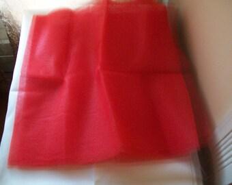 2 Yards of nylon netting