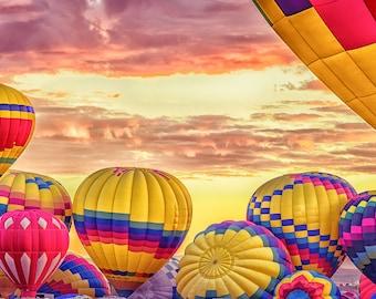 Albuquerque Hot Air Balloon Fiesta, New Mexico