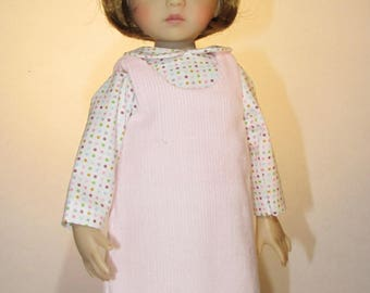 13-14 inch Doll,  Little Darlings and Betsy McCall, Pink Jumper Set