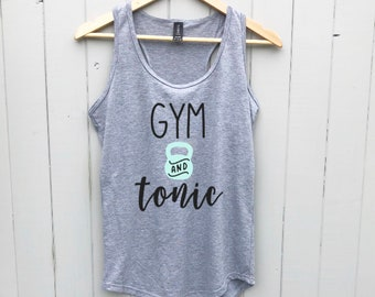 Womens Workout Tops | Gym and Tonic | Workout Clothes | Fitness Clothing | Workout Tank Tops | Workout Tanks | Fitness tanks