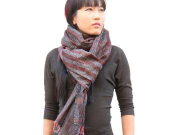 Sashiko Silk Stole