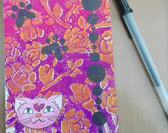 Notebook colorbook diary art journal bullet journal - Cats