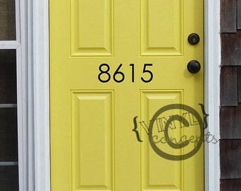 House address numbers - Vinyl Wall Art