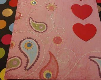 Valentine's Card Hand Made