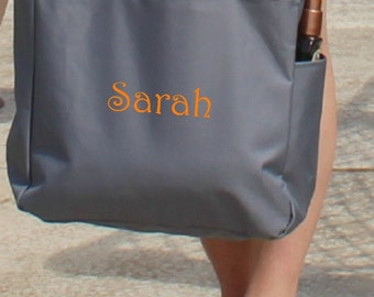 Personalized Beach Bag Overnight Travel Tote