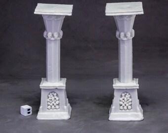 Graveyard Column (2) - 77638 - Reaper Miniatures