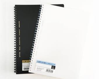 Soft Ring Notebook B5 ( Grid /  Dot Grid ) by KOKUYO   spiral notebook   japanese notebook   japanese stationery   bullet journal