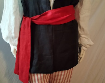Pirate Sash S-XXL, Made to Order